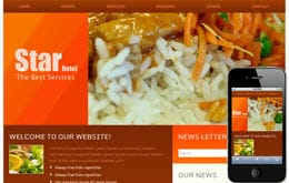 Hotel Star Hotel Web Template and Mobile Web Template