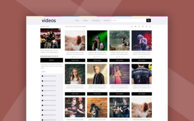 Video Streaming Website Template – Videostube