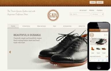 Gaia a Flat ECommerce Bootstrap Responsive Web Template