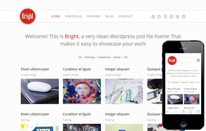 Bright a Corporate Multipurpose Flat Bootstrap Responsive Web Template