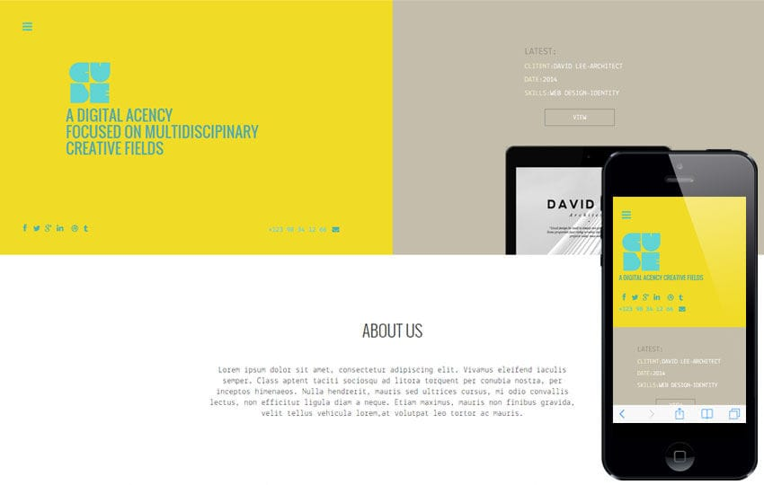 Cube a Corporate Agency Flat Bootstrap Responsive Web Template