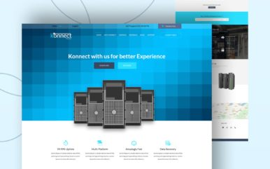 Konnect a Web Hosting Flat Bootstrap Responsive Web Template