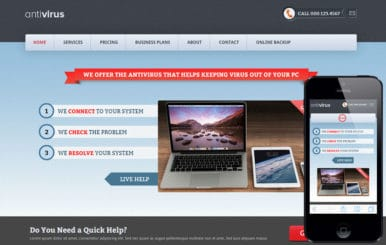 Anti Virus a Corporate Business Flat Bootstrap Responsive Web Template