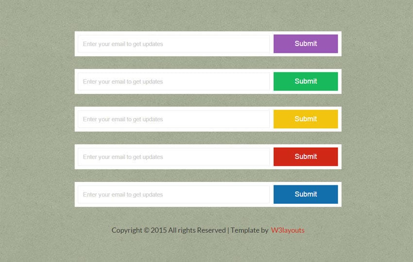 Flat Buttons Submit Forms Widget Template