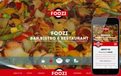 Foozi a Hotel Category Flat Bootstrap Responsive Web Template