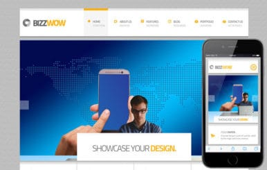 Bizz Wow a Corporate Business Flat Bootstrap Responsive Web Template