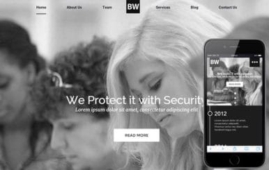 Black and White a Educational Category Flat Responsive web template