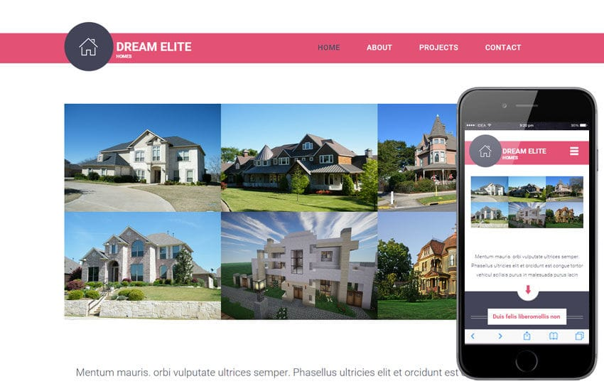 Dream Elite a Real Estate Category Flat Bootstrap Responsive Web Template
