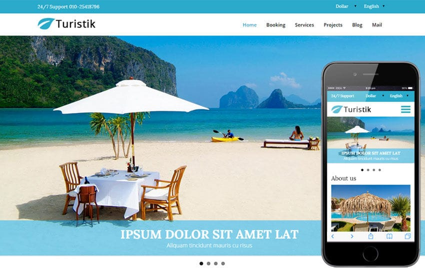 Turistik a Travel Guide Flat Bootstrap Responsive web template