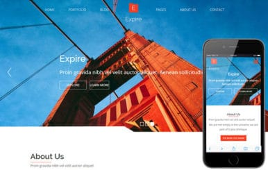 Expire a Corporate Business Flat Bootstrap Responsive Web Template