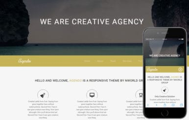 Agendo a Corporate Business Flat Bootstrap Responsive Web Template