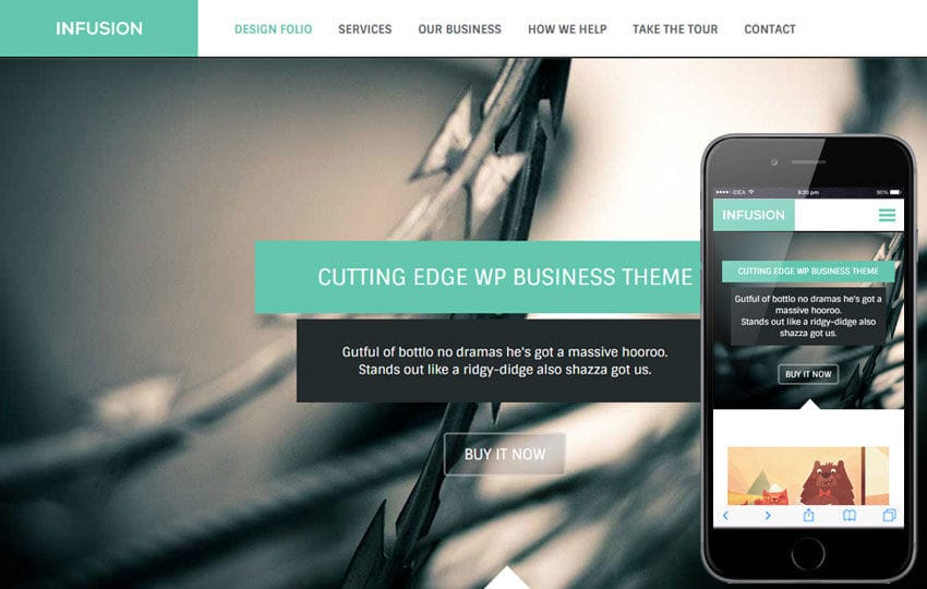 Infusion a Corporate Business Flat Bootstrap Responsive Web Template