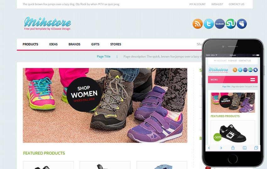 Mih Store a Flat Ecommerce Bootstrap Responsive Web Template