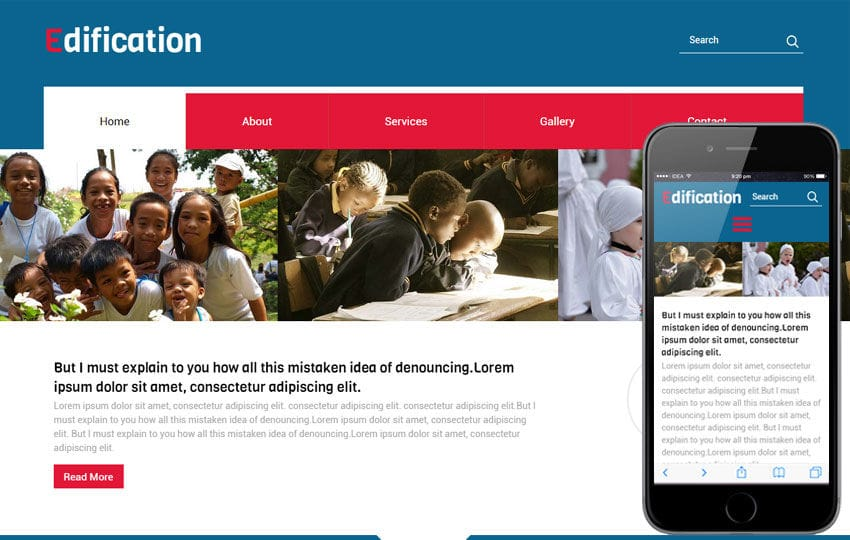 Edification a Educational Category Flat Bootstrap Responsive web template