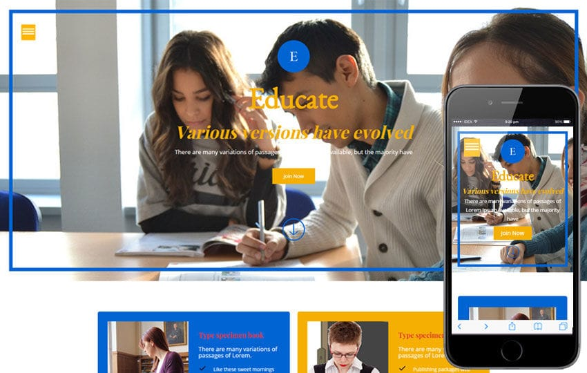 Educate a Educational Category Flat Bootstrap Responsive web template