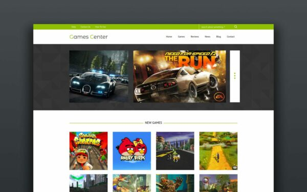 gaming-website-templates