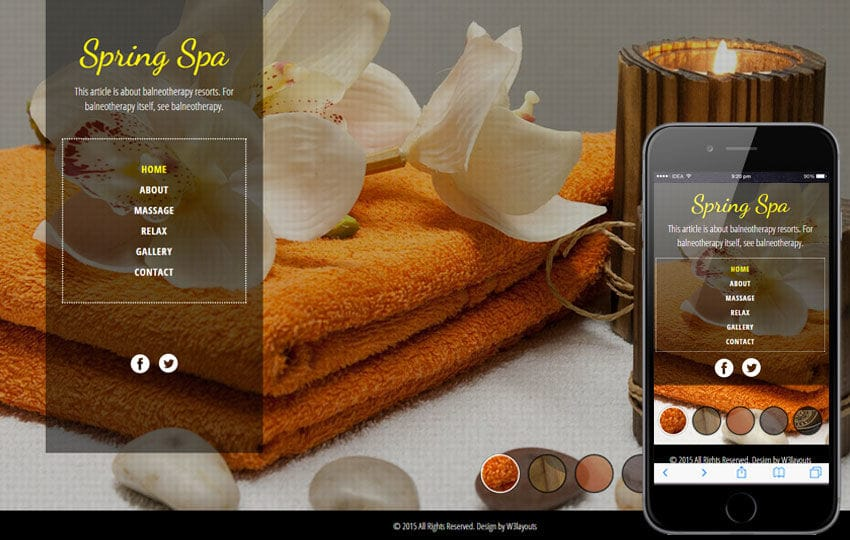 Spa Salon a Beauty and Spa Flat Bootstrap Responsive Web Template