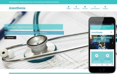 Anesthesia a Medical Category Flat Bootstrap Responsive Web Template