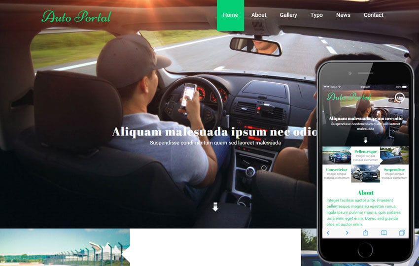Auto Portal a Auto Mobile Category Flat Bootstrap Responsive Web Template