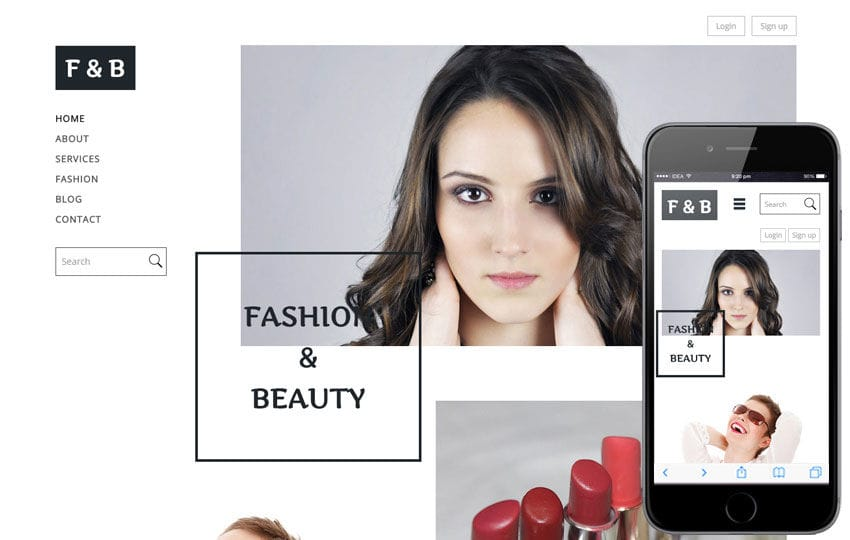 Fashion and Beauty a Fashion Category Flat Bootstrap Responsive Web Template