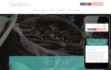 Generous a Charity Category Flat Bootstrap Responsive Web Template