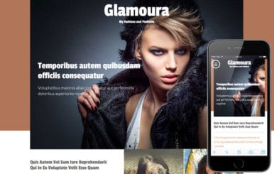 Glamoura a Fashion Category Flat Bootstrap Responsive Web Template