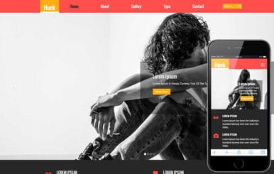 Hunk a Fashion Category Flat Bootstrap Responsive Web Template