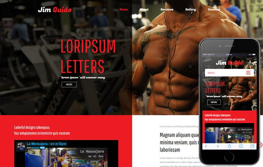 Jim Guide a Sports Category Flat Bootstrap Responsive Web Template
