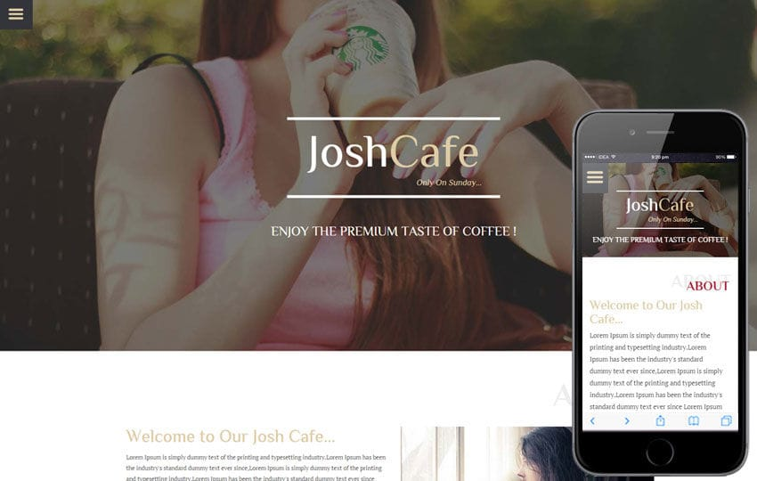 Josh Cafe a Hotel Category Flat Bootstrap Responsive Web Template
