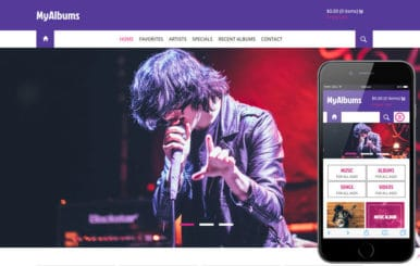 My Albums a Entertainment Category Flat Bootstrap Responsive web template