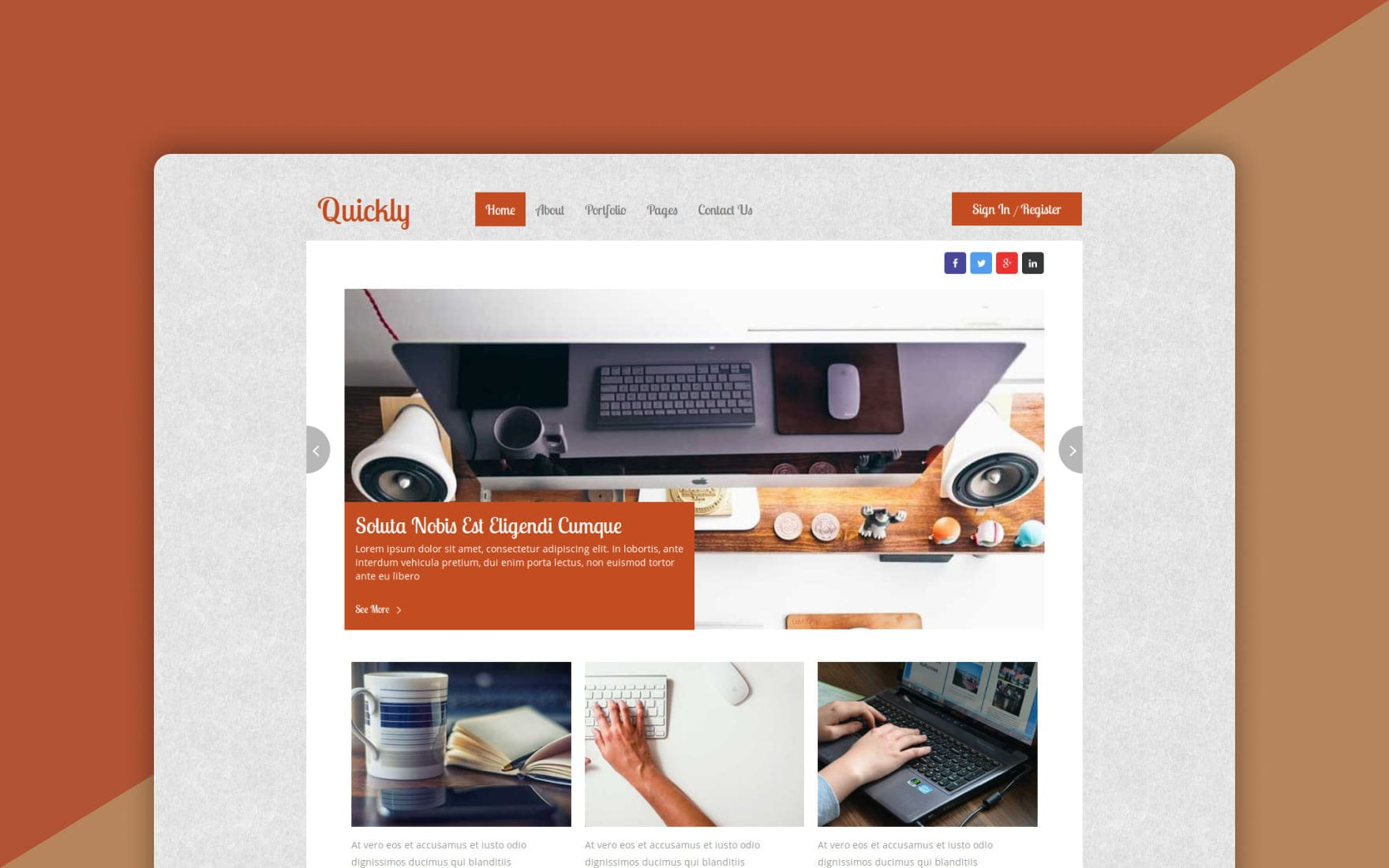 Quickly a Blogging Category Flat Bootstrap Responsive Web Template