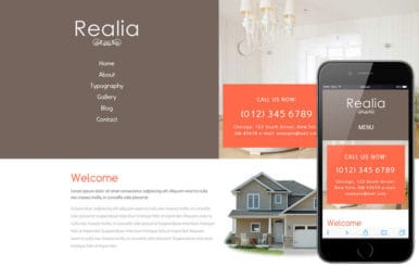 Realia a Real Estate Category Flat Bootstrap Responsive Web Template