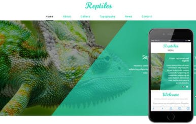 Reptiles a Animal Category Flat Bootstrap Responsive Web Template
