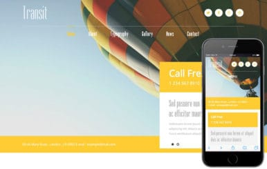 Transit a Travel Guide Flat Bootstrap Responsive web template