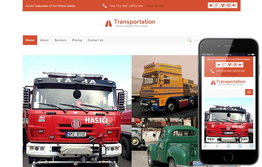 Transportation a Auto Mobile Category Flat Bootstrap Responsive Web Template