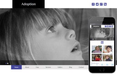 Adoption a Charity Category Flat Bootstrap Responsive Web Template