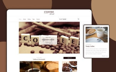 Coffee Break a Blogging Category Flat Bootstrap Responsive Web Template