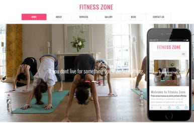 Fitness Zone a Sports Category Flat Bootstrap Responsive Web Template
