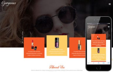 Gorgeous a Fashion Category Flat Bootstrap Responsive Web Template
