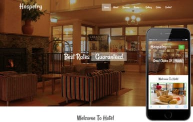 Hospelry a Hotel Category Flat Bootstrap Responsive Web Template