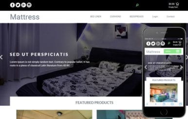 Mattress a Furniture Ecommerce Flat Bootstrap Responsive Web Template