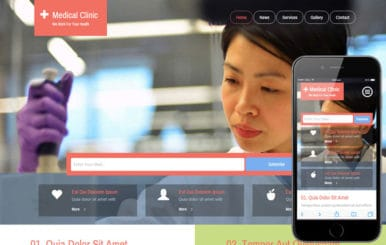 Medical Clinic a Medical Category Flat Bootstrap Responsive Web Template