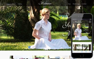 Meditation a Sports Category Flat Bootstrap Responsive Web Template