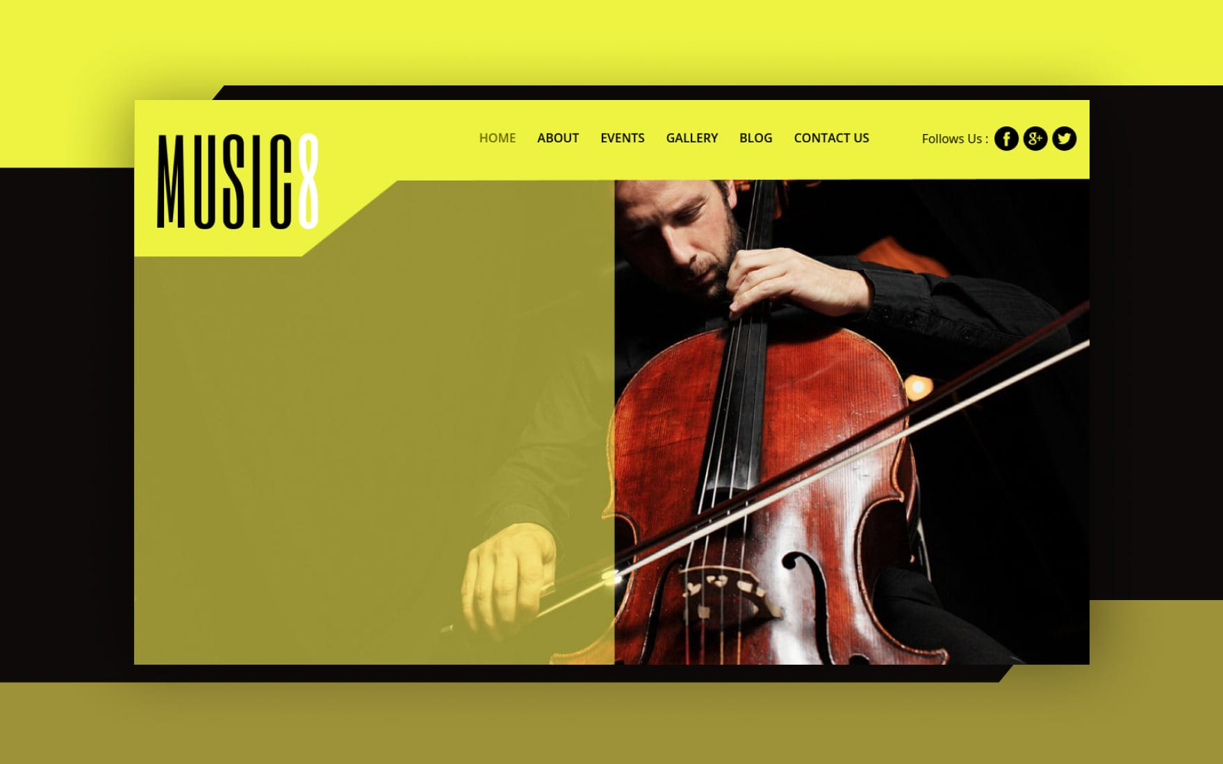 Music 8 a Entertainment Category Flat Bootstrap Responsive web template