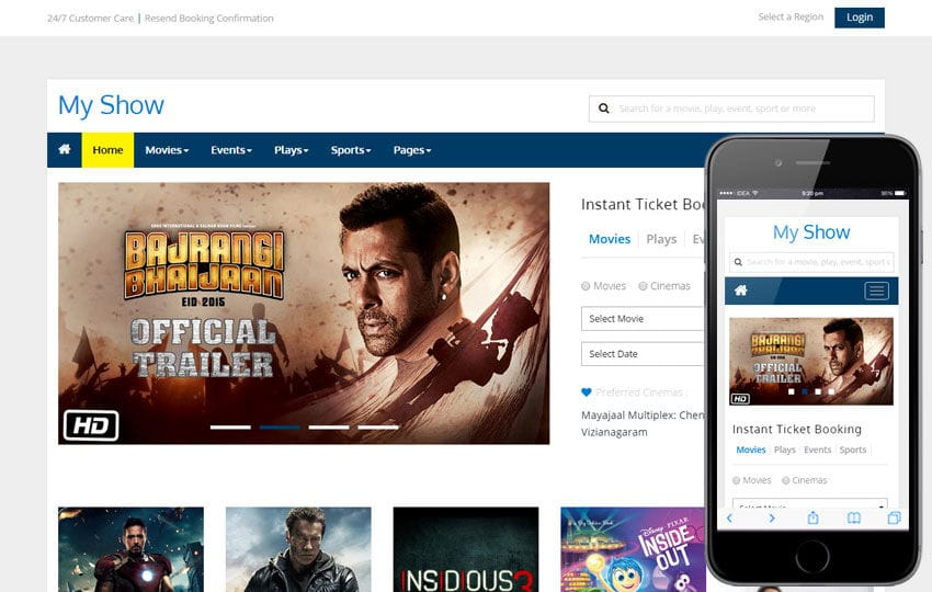 My Show a Entertainment Category Flat Bootstrap Responsive web template