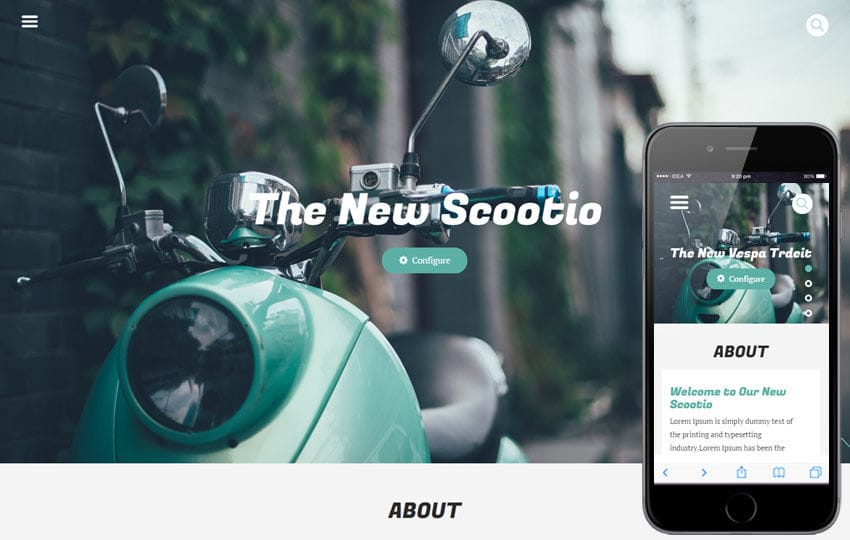 Scootio a Auto Mobile Category Flat Bootstrap Responsive Web Template
