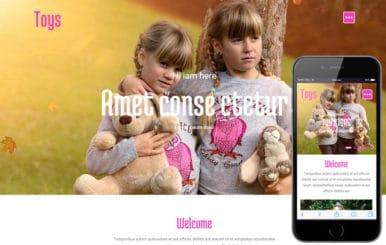 Toys eCommerce Bootstrap Responsive Web Template