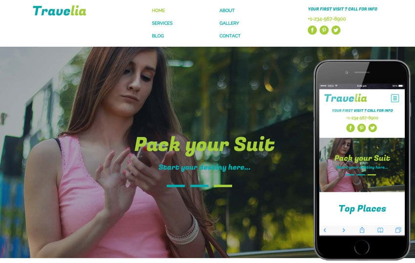 Travelia a Travel Agency Flat Bootstrap Responsive web template