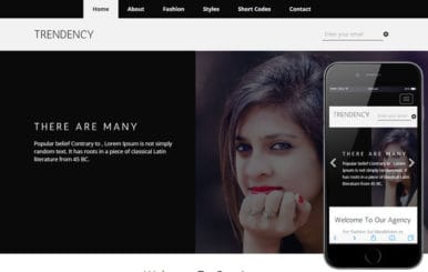 Trendency a Fashion Category Flat Bootstrap Responsive Web Template