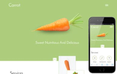 Carrot a Food Category Flat Bootstrap Responsive Web Template